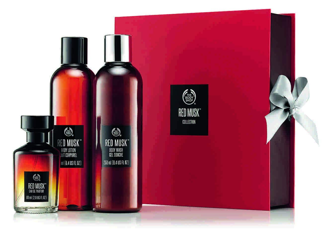 The Body Shop Gift Medium Red Musk