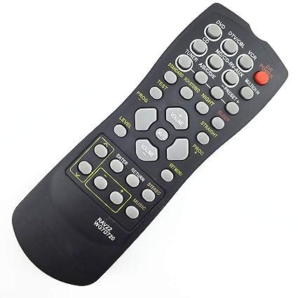 Artshu - Mando a Distancia para Amplificador de Cine en casa Yamaha RAV22 WG70720 CD DVD