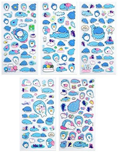 kawaii dress up stickers - 6
