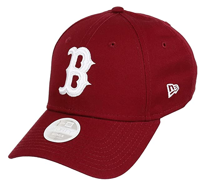 New Era Boston Red Sox 9forty Adjustable Women Cap League Essential Cardinal  White - One-Size  Amazon.co.uk  Clothing 08234ff9f7a4