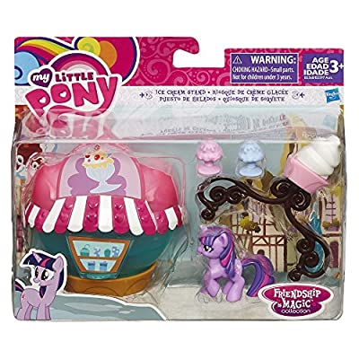 My Little Pony Friendship Is Magic Collection Ice Cream Stand: Toys & Games