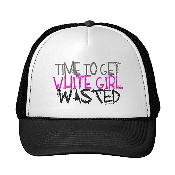 Image Unavailable. Image not available for. Color  Funny White Girl Wasted  Hats 4316233f838e