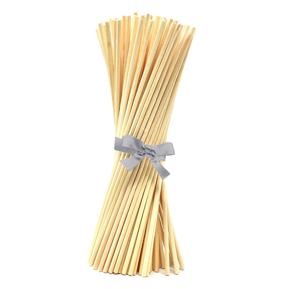 """Set of 108 Replacement Rattan Diffuser Reeds 7"""", Natural 