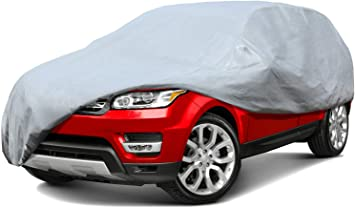 5 Layer SUV Cover Soft Breathable Dust Proof UV Water Indoor Outdoor Car 5665
