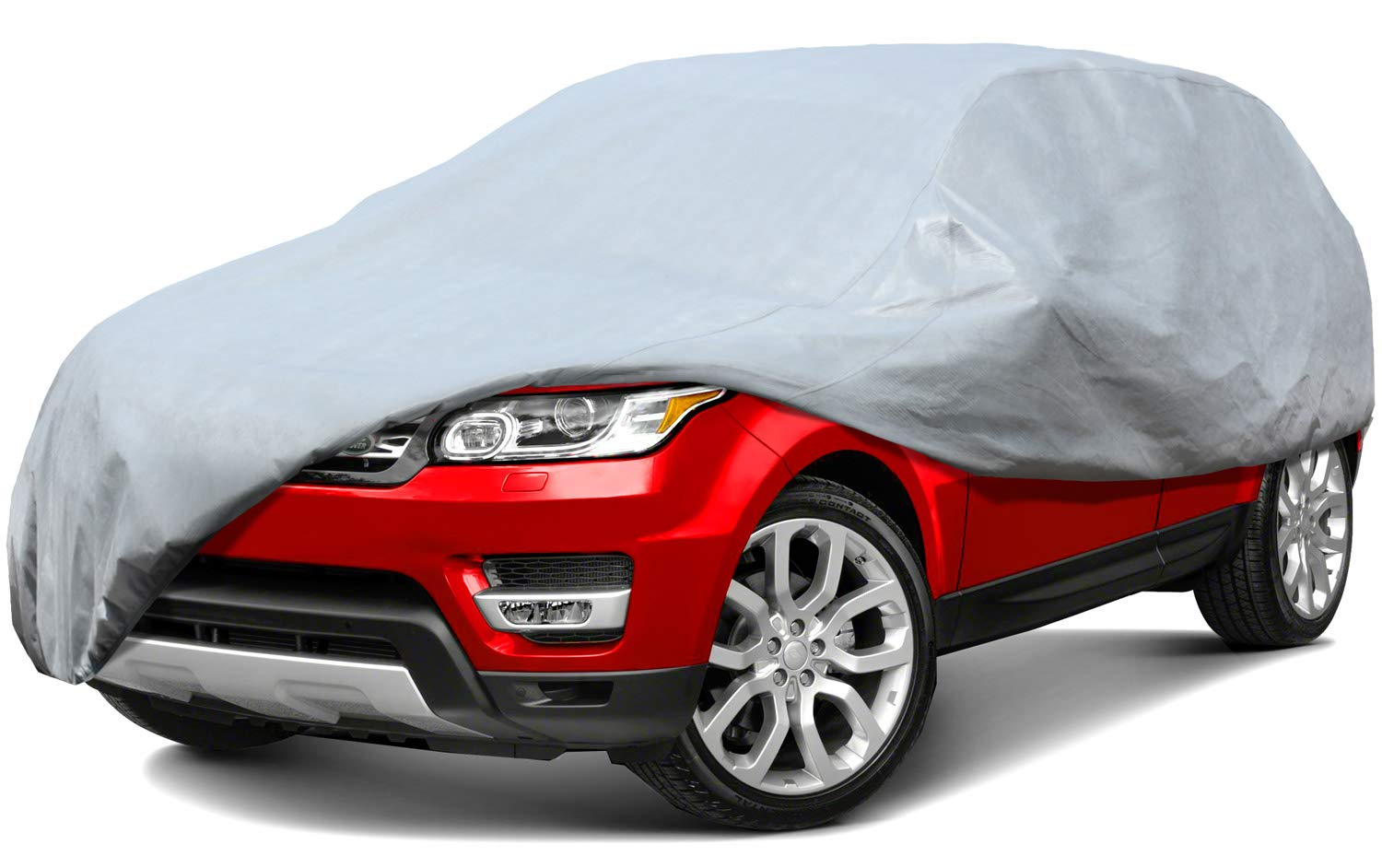 Leader Accessories 5 Layers SUV Cover 100% Waterproof UV Rays Resistant Outdoor Indoor Use SUV up to 187''