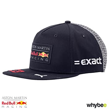 e4f83031cbe6a 2018 MAX Verstappen Flatbrim Cap. Aston Martin Red Bull F1 Team - Gorra  para Adulto  Amazon.es  Deportes y aire libre