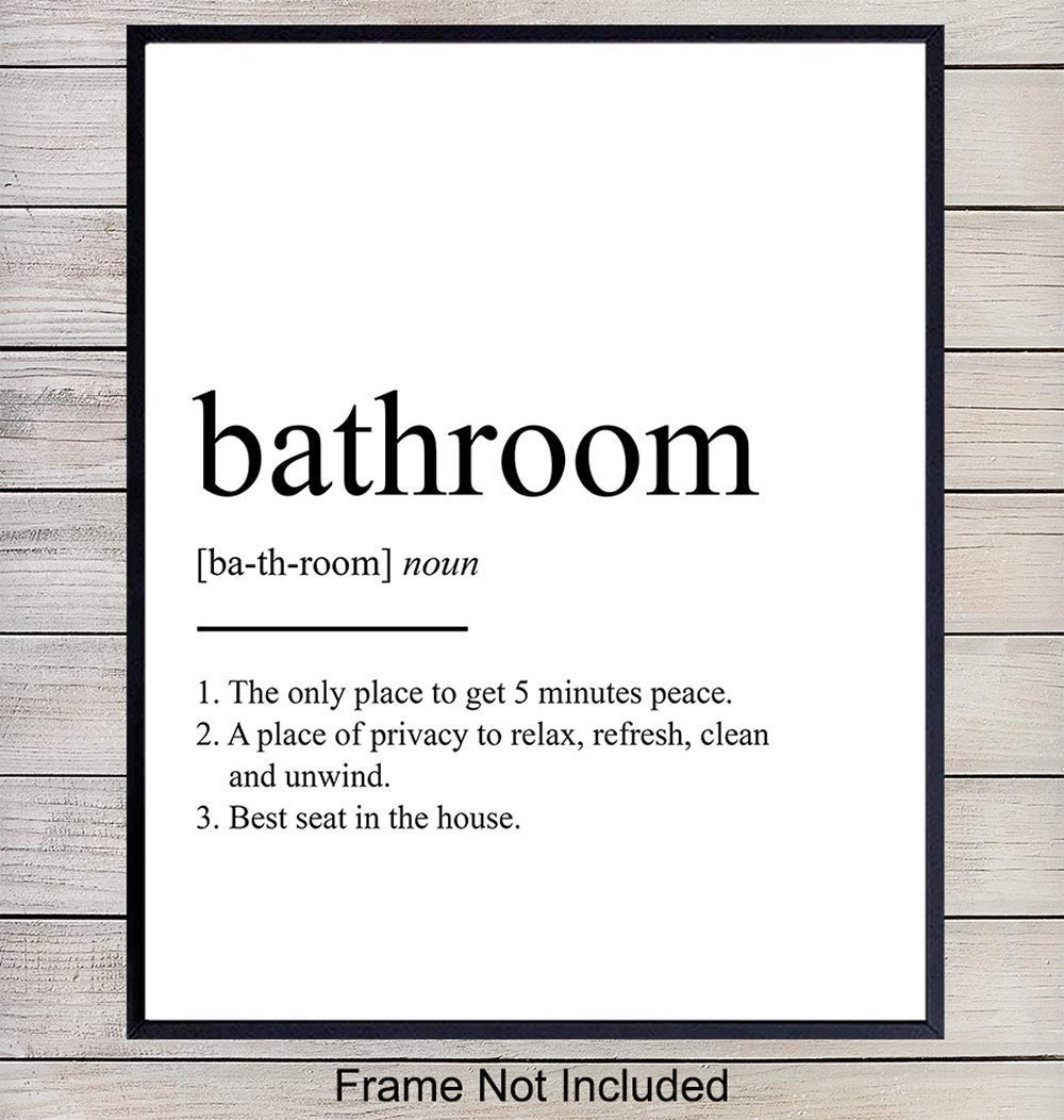 The best seat in the house wall art printhousewarming gift toilet sign