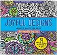 Joyful Designs Adult Coloring Book (31 stress-relieving designs) (Studio)