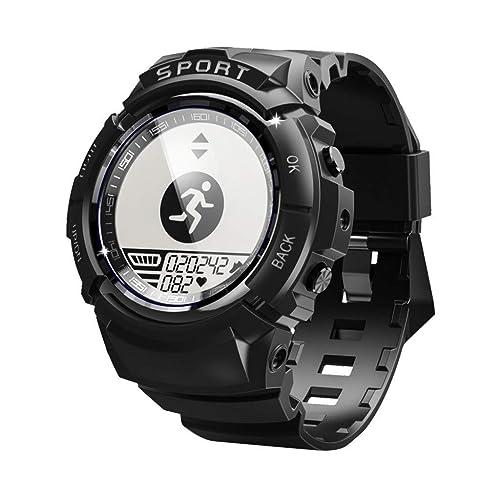 Reloj Inteligente, S816 Hombres Deportes Reloj Inteligente IP68 Impermeable Rastreador de Fitness Dinámico Ritmo Cardíaco