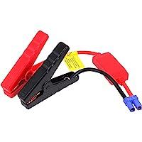 Yeebline EC5 Cable de Arranque, Cable de Arranque de Coche de Repuesto, Abrazadera de Pinza de cocodrilo a Conector EC5 para arrancador de Coche de Emergencia portátil de 12 V
