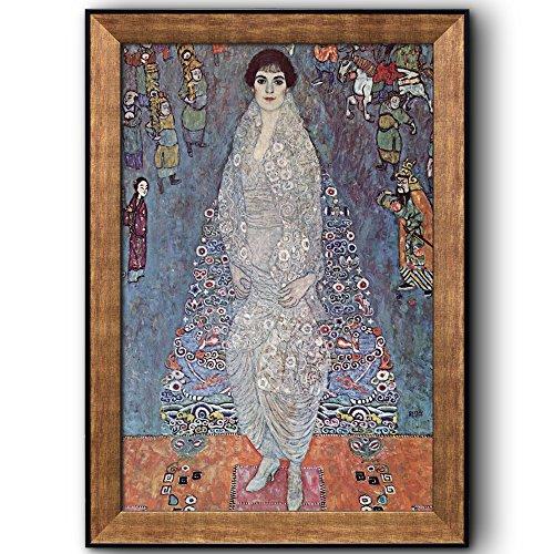 Portrait of Baroness Elisabeth Bachofen Echt by Gustav Klimt Framed Art