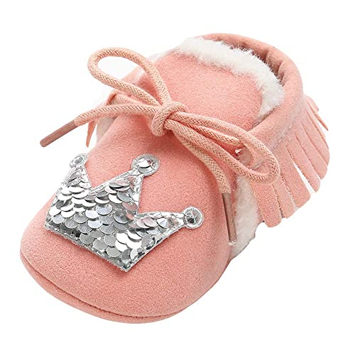 Amazon.com | XoiuSyi, Baby Bandage Cotton Shoes Keep Warm Sequins Toddler First Walkers Slip-On Kid Shoes Purple | Sneakers
