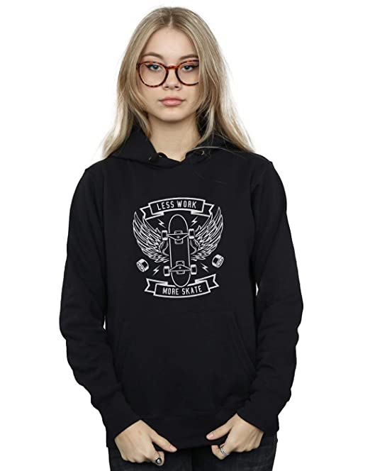 Absolute Cult Drewbacca Mujer Skate More Capucha: Amazon.es: Ropa y accesorios