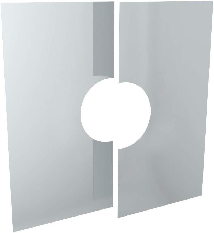 Edelstahlschornstein Schornstein Einzelteil doppelwandig 30/° Winkel /Ø100mm Innendurchmesser 25mm Isolierung f/ür die Erstellung von Schornsteinverz/ügen