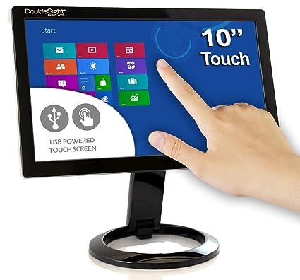 Amazon.com: DoubleSight Smart USB Touch Screen LCD Monitor, 10