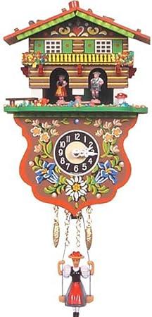 Niño y Niña meteorológica casa reloj de cuco: Amazon.es: Hogar