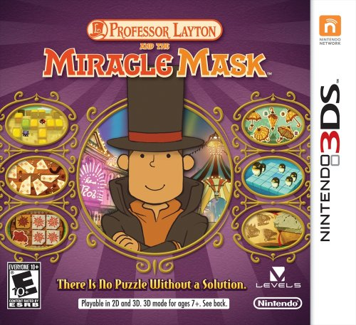 Professor Layton and The Miracle Mask - Nintendo 3DS (Professor Layton And The Last Specter Rom)