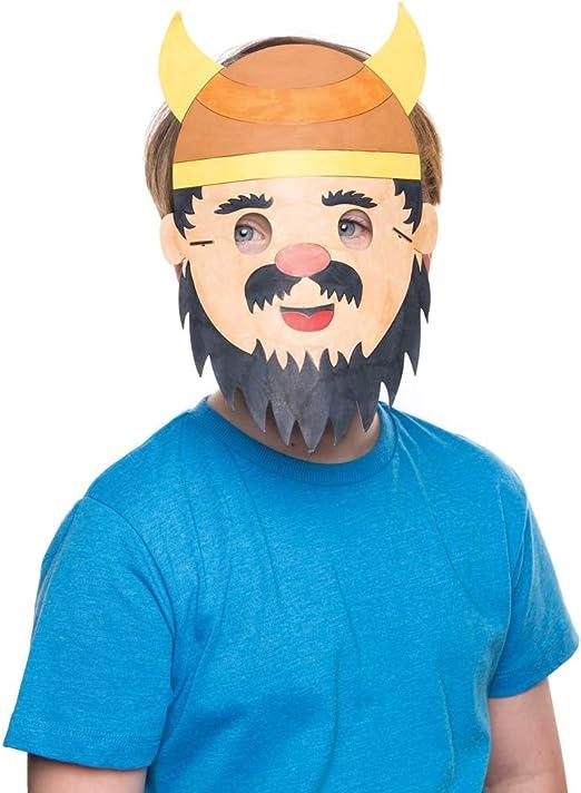 Viking Lot de 8 Masques Color/és
