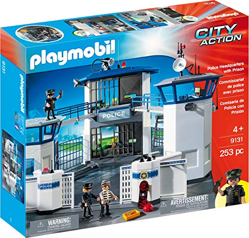 PLAYMOBIL Police Headquarters with Prison from Playmobil