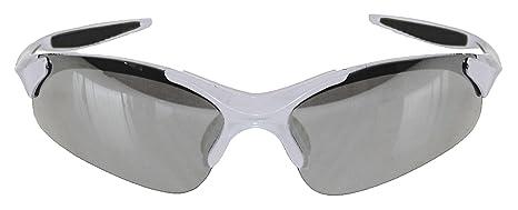 Mighty 710014 - Occhiali da bicicletta e sporti, colore: Bianco/Nero
