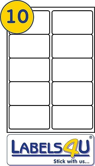 20 sheets of a4 sheet labels 10 labels per sheet size 99 1mm x 57mm