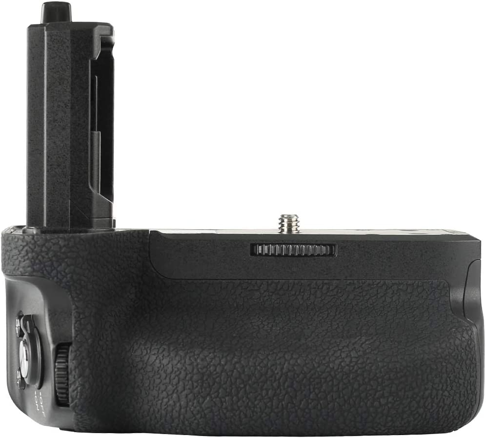 Meike MK-A7R IV PRO Professional Battery Grip with 2.4 G 100-Meter Wireless Remote Control Compatible with Sony A7 IV A7R IV A9II