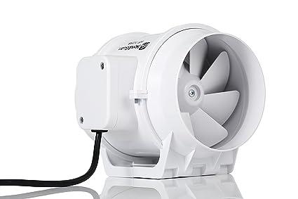 Hon guan ventilatore in linea aspiratore per bagno con timer super