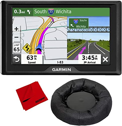 Garmin Drive 52 5 GPS Navigator US Canada with Weighted GPS Dash Mount More