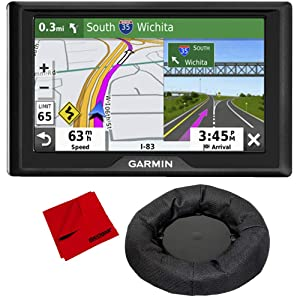 """Garmin Drive 52 5"""" GPS Navigator (US & Canada) with Weighted GPS Dash Mount + More"""