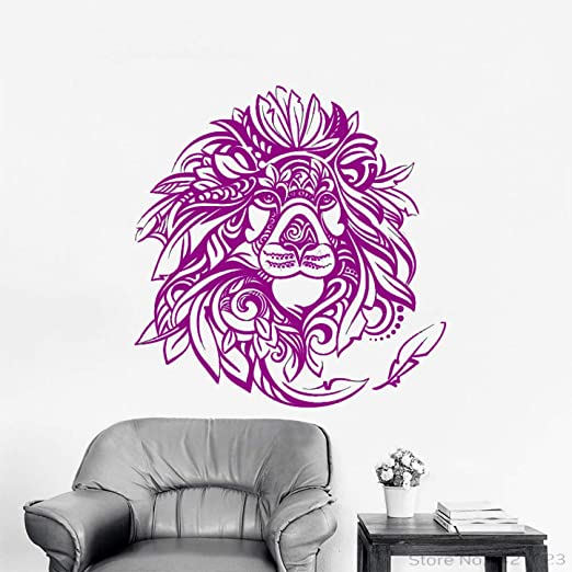 xingbuxin Tatuajes de Pared Creativo León Africano Etiqueta de la ...