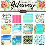 Scrapbook Customs Getaway Paper Pack Scrapbook Kit