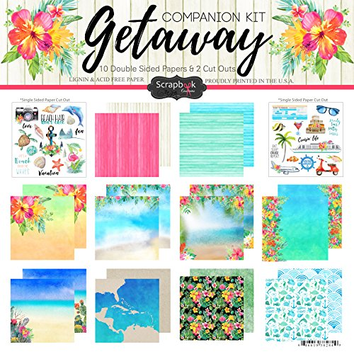 (Scrapbook Customs Getaway Paper Pack Scrapbook Kit)
