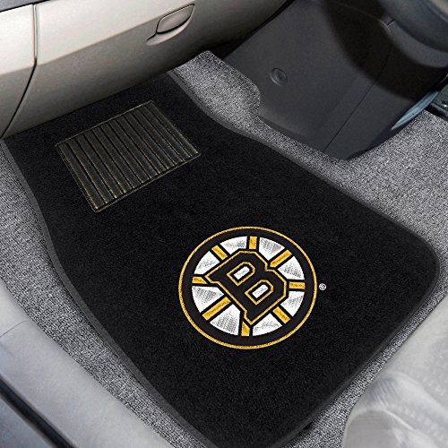 FANMATS Floor Mats NHL Boston Bruins Embroidered 17088 Black