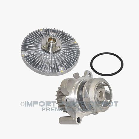 Amazon.com: Engine Water Pump + Fan Clutch Kit for Audi VW Volkswagen Passat A4 A4 Quattro Premium 06A121011L/058121350 New: Automotive
