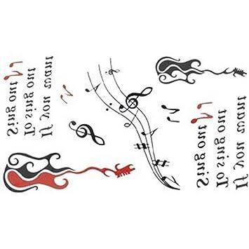 Nueva versión tatuaje temporal impermeables símbolos hembra letras ...