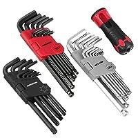 Meterk 36Pcs Hex Key Allen Wrench Set Deals