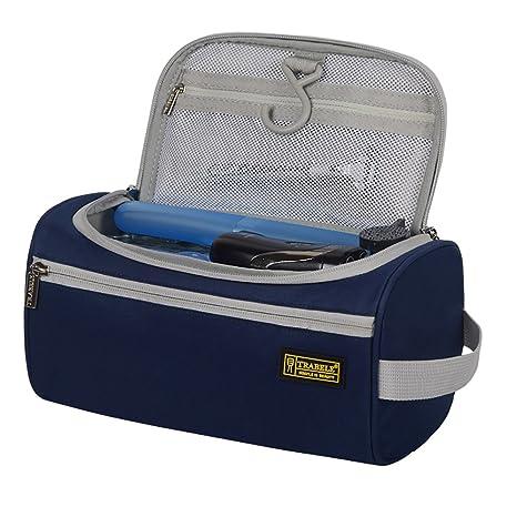 da506808ee SCKAL Beauty Case da Viaggio- Borsa Toilette da Viaggio Uomo Appendibile  Beauty Case Bagno Borsa