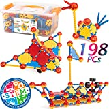 Best Toys For 2 Year Old Boy Learnings - cossy STEM Learning Toy Engineering Construction Building Blocks Review