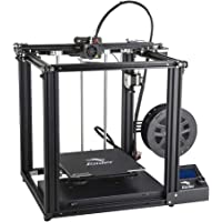 Comgrow Creality 3D Ender 5 3D Printer with Resume Printing Function and UL Certified MeanWell Power Supply