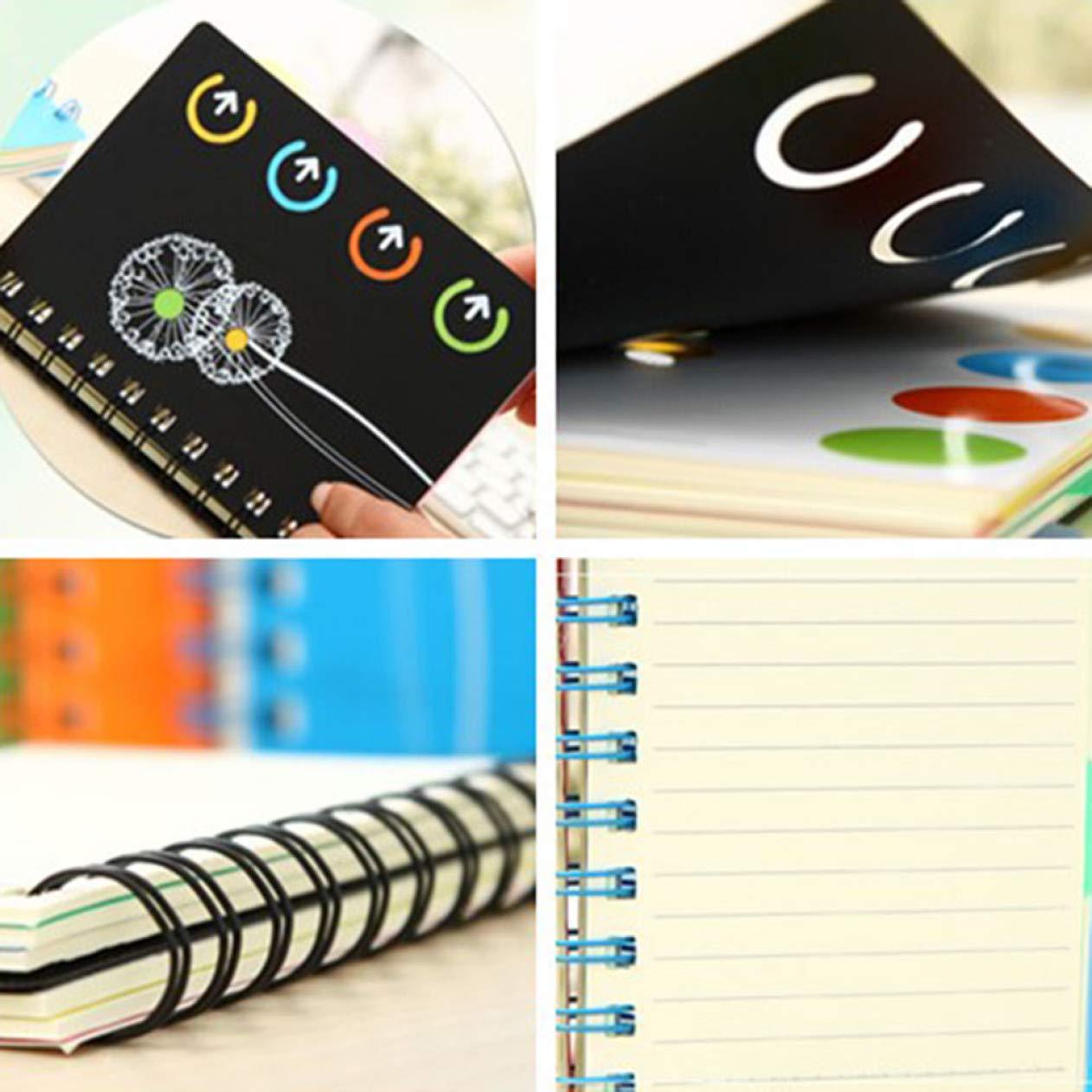 BRAlbert Extraordinaria 1 unidad Kawaii Coil Notebook Diary ...