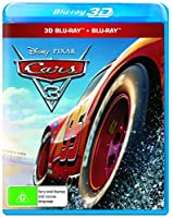 Cars 3 3D (Blu-ray 3D/Blu-ray) by Disney