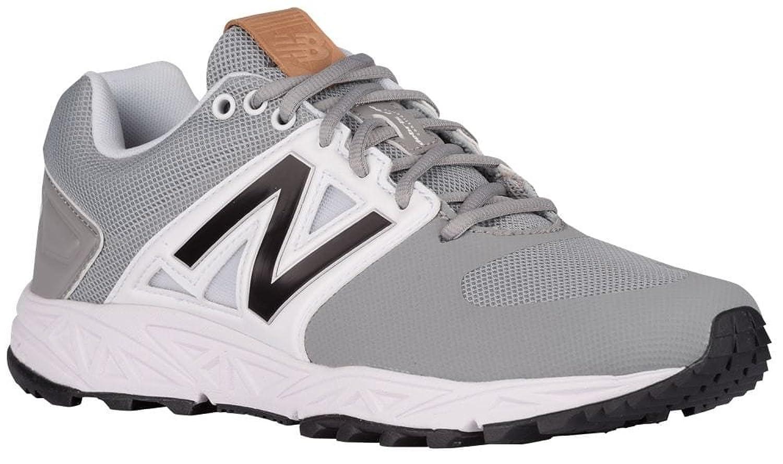 [ニューバランス] New Balance 3000V3 Trainer メンズ ベースボール [並行輸入品] B072LNM4G5グレー/ホワイト US15.0