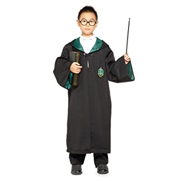 Adulto Niño Disfraz de Harry Potter Slytherin Albornoz Capa ...