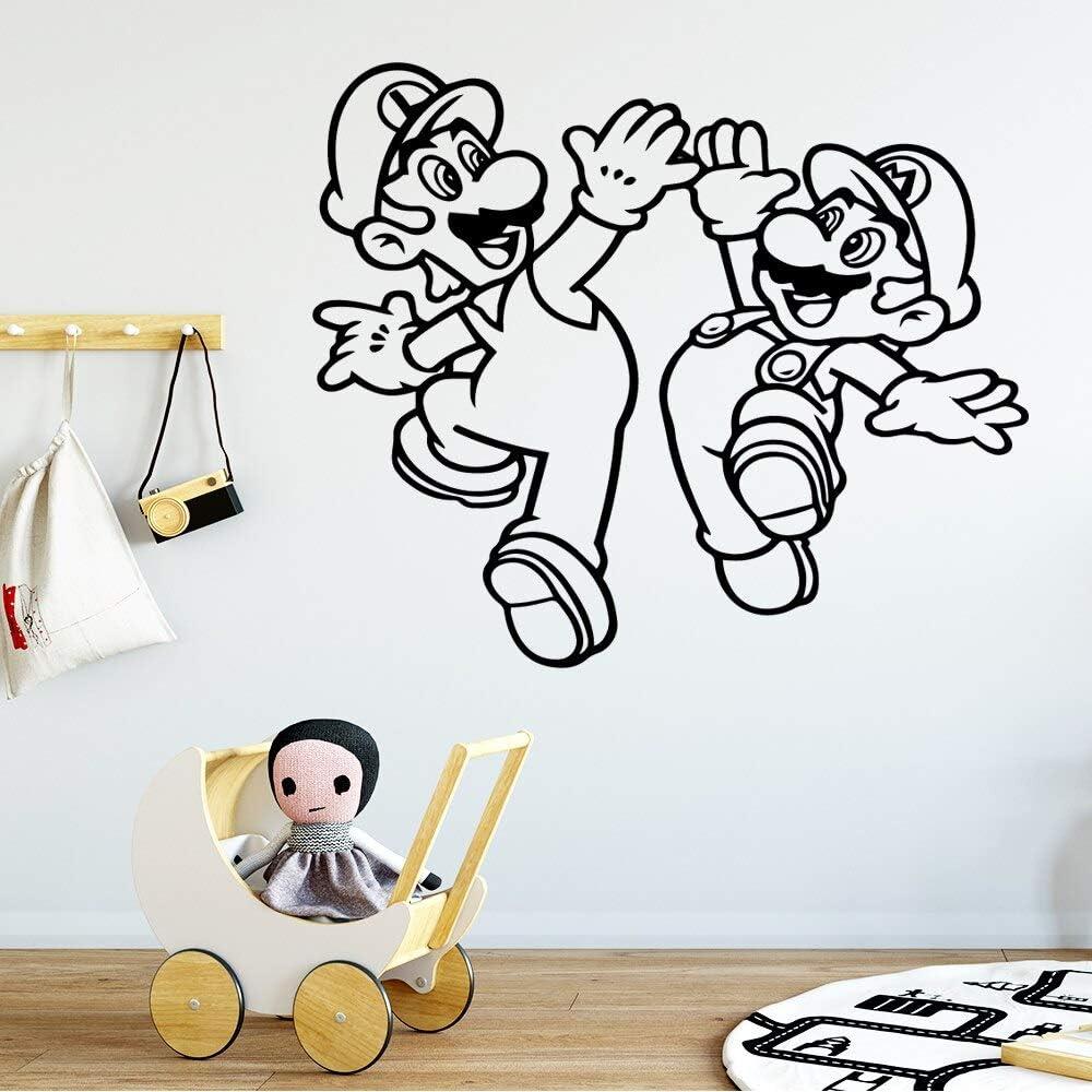 hetingyue Stickers muraux modernes Appliques de vinyle Enfants