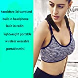 3D Wearable Wireless Bluetooth Speaker,Aulzaju