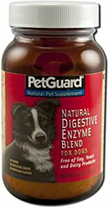 PetGuard Natural Powder Digestive Enzyme for Dogs - 4 oz