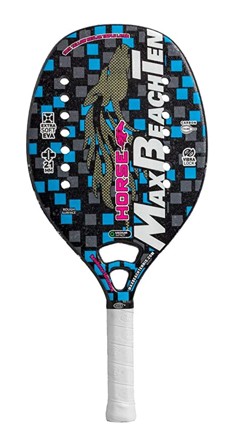 Amazon.com : Max Beach Tennis MBT Racket Racquet Beach Tennis Horse 2019 : Sports & Outdoors