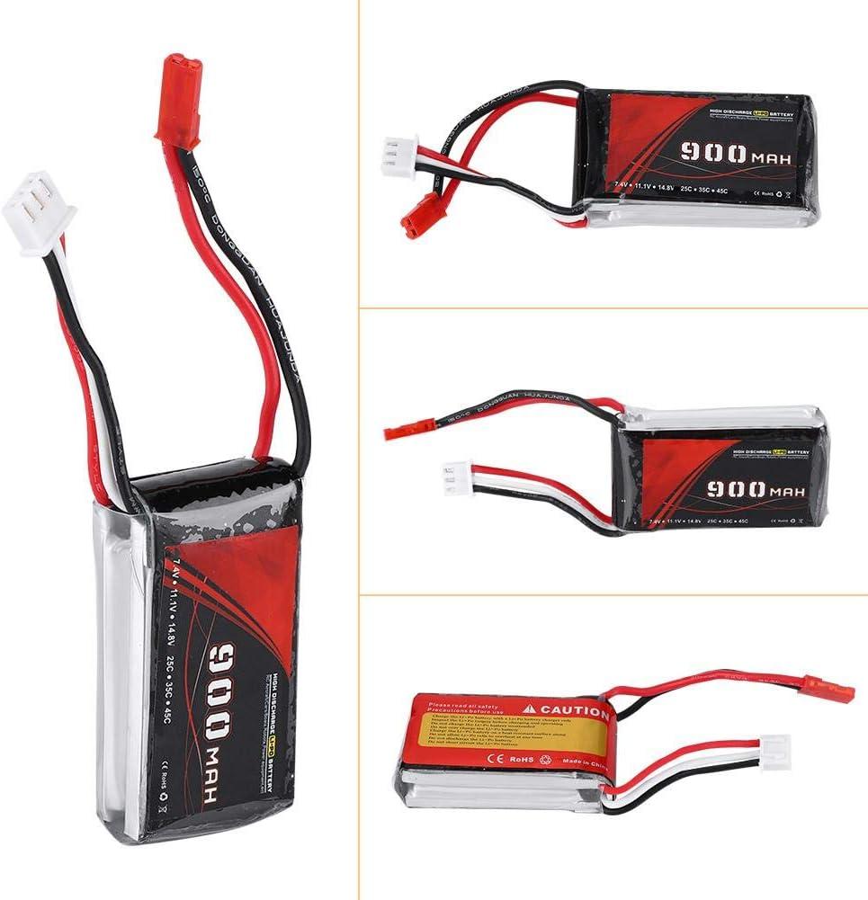 VGEBY1 Batterie RC Batterie au Lithium de 7,4V 900mah 25C JST Plug pour Le Robot davion de Camion de Bateau de Voiture de RC