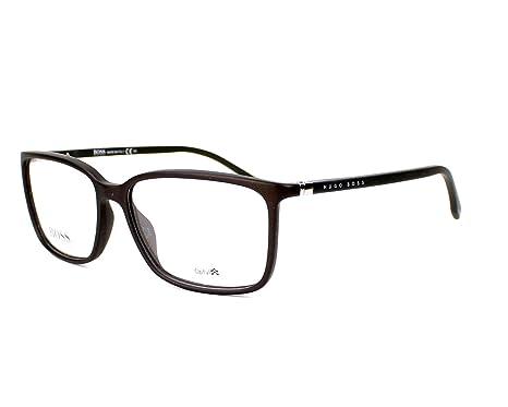 Amazon.com: Optical frame Hugo Boss Optyl Matt Grey (BOSS 0679 V2Q ...