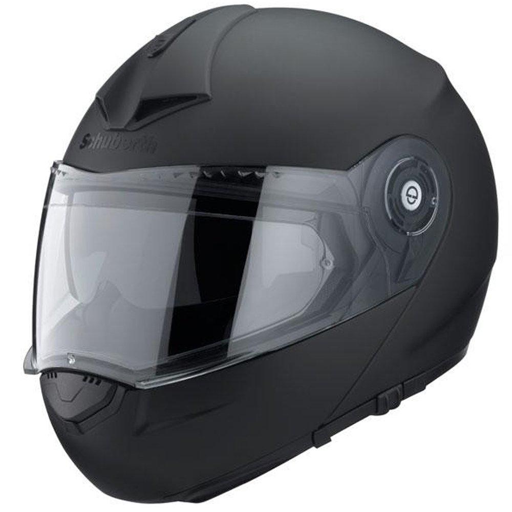 Schuberth C3 Pro Mate Negro Motocicleta Casco